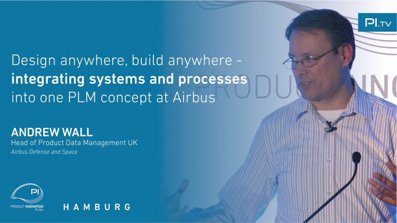 Design Anywhere, Build Anywhere - Integrating Systems and Processes into One PLM Concept at Airbus video thumbnail