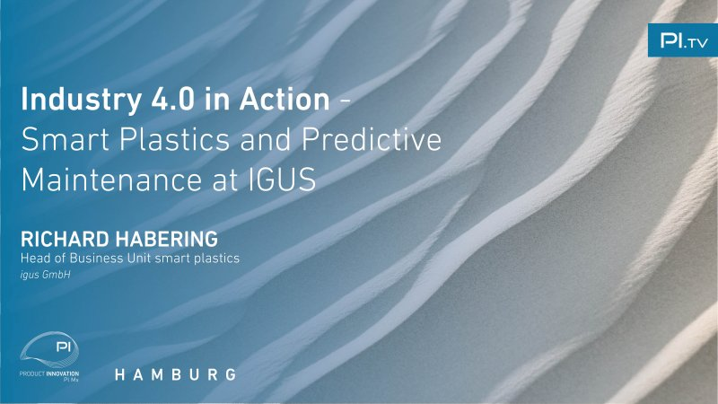 Industry 4.0 in Action - Smart Plastics and Predictive Maintenance at IGUS video thumbnail