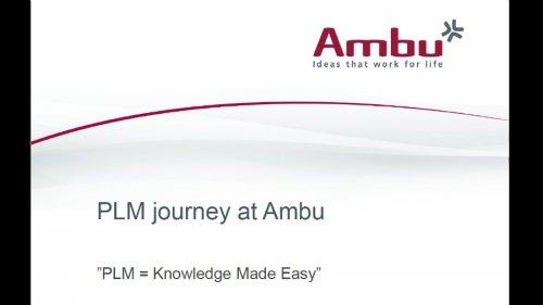 PLM at Ambu