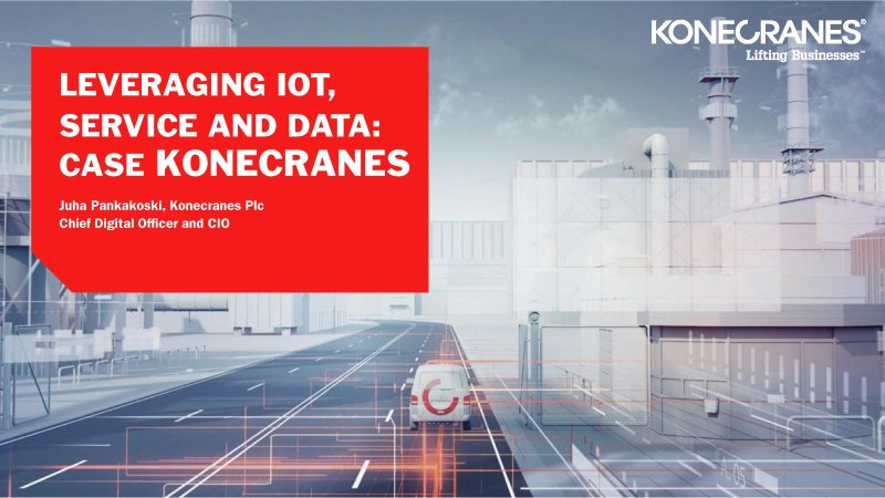 Leveraging IoT, Service and Data