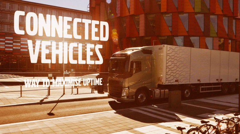 Connected Vehicles at Volvo Trucks video thumbnail