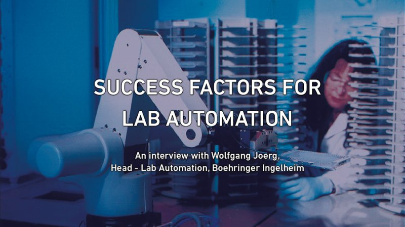 Success Factors for Lab Automation