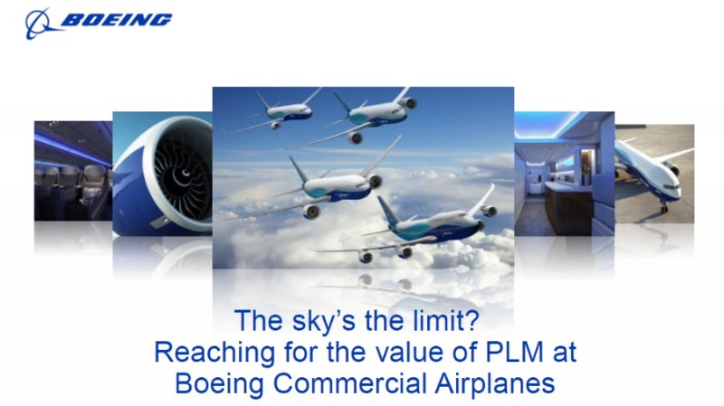 20 Years of Value Realization with PLM at Boeing Commercial Airplanes video thumbnail